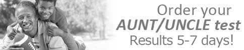Order Your Aunt/Uncle Test from homeDNAdirect
